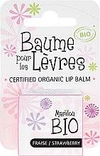 "Парфюмерия и Козметика Балсам за устни ""Ягода"" - Marilou Bio Certified Organic Lip Balm"