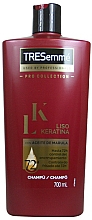 Парфюмерия и Козметика Кератинов шампоан за коса - Tresemme Keratin Smooth Liso Keratina Shampoo