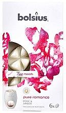 """Парфюмерия и Козметика Ароматен восък """"Роза и кехлибар"""" - Bolsius True Moods Pure Romance Rose & Amber"""