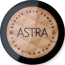 Парфюмерия и Козметика Бронзираща пудра за лице - Astra Make-Up Bronze Skin Powder
