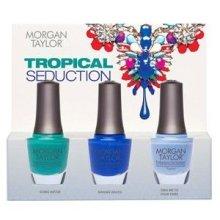 Парфюми, Парфюмерия, козметика Комплект лак за нокти - Morgan Taylor Tropical Seduction (nail/3х15ml)