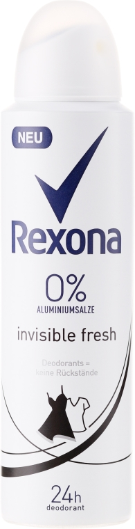 """Спрей дезодорант """"Invisible Fresh"""" - Rexona Deodorant Spray — снимка N1"""