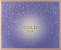 Парфюми, Парфюмерия, козметика Roberto Verino Gold Diva - Комплект парфюмна вода (edp/90ml+edp/30ml)