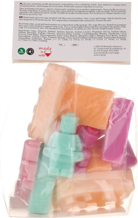 """Натурален сапун """"Лего"""" - LaQ Happy Soaps — снимка N3"""