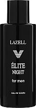 Парфюмерия и Козметика Lazell Elite Night - Тоалетна вода