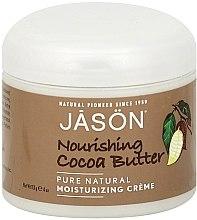 Парфюмерия и Козметика Подхранващо крем-масло за тяло с какаово масло - Jason Natural Cosmetics Pure Natural Nourishing Cocoa Butter