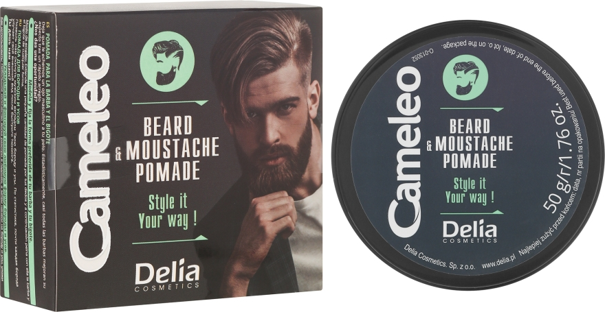 Вакса за брада и мустаци - Delia Cameleo Men Beard and Moustache Pomade