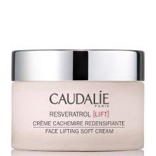 Парфюми, Парфюмерия, козметика Крем за корекция овала на лицето - Caudalie Resveratrol Lift Face Lifting Soft Cream