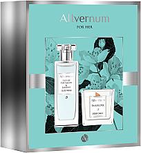 Allvernum Lilly & Jasmine Gift Set - Комплект (парф.вода/50ml + свещ/100g) — снимка N1