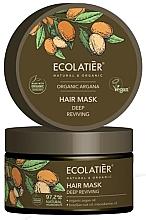 Парфюмерия и Козметика Дълбоко възстановяваща маска за коса - Ecolatier Organic Argana Hair Mask