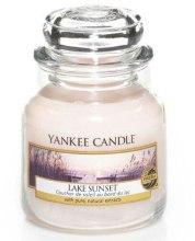 """Парфюми, Парфюмерия, козметика Ароматна свещ """"Залеза на езерото"""" - Yankee Candle Lake Sunset"""