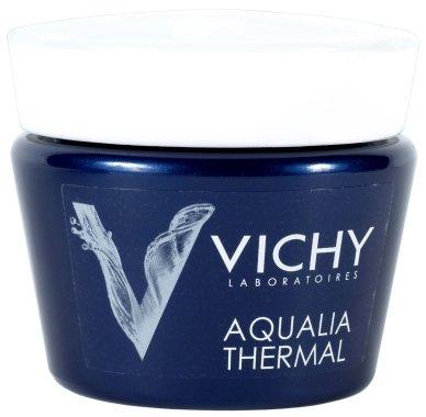 Нощен дълбоко хидратиращ крем-гел за лице - Vichy Aqualia Thermal Night SPA — снимка N1