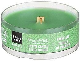 Парфюмерия и Козметика Ароматна свещ в чаша - Woodwick Petite Candle Palm Leaf