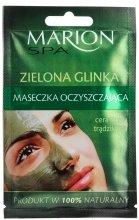 Парфюми, Парфюмерия, козметика Маска за лице със зелена глина - Marion SPA Mask