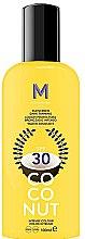 Парфюми, Парфюмерия, козметика Слънцезащитен крем за тъмен тен - Mediterraneo Sun Coconut Sunscreen Dark Tanning SPF30