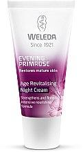 Парфюми, Парфюмерия, козметика Нощен крем за зряла кожа - Weleda Evening Primrose Age Revitalizing Night Cream