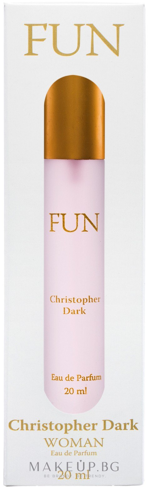 Christopher Dark Fun - Парфюмна вода — снимка 20 ml
