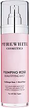 Парфюмерия и Козметика Хидратиращ спрей за лице - Pure White Cosmetics Plumping Rose Beautifying Mist