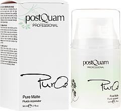 Парфюмерия и Козметика Възстановяващ флуид за лице - PostQuam Pure 02 Matte Repair Fluid