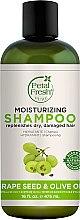 Парфюмерия и Козметика Овлажняващ шампоан за коса - Petal Fresh Pure Grape Seed and Olive Oil Shampoo Moisturizing