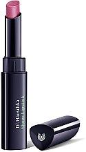 Парфюмерия и Козметика Хидратиращо червило за устни - Dr.Hauschka Sheer Lipstick