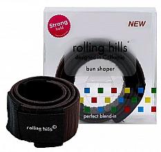 Парфюмерия и Козметика Лента за кок, кафява - Rolling Hills Bun Shaper Brown