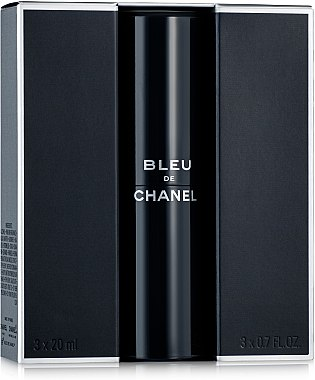 Chanel Bleu de Chanel - Тоалетна вода (3 пълнителя и атомайзер) — снимка N3