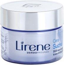 Парфюми, Парфюмерия, козметика Регенериращ крем за суха кожа на лицето - Lirene Duo Hydro-Comfort Dry Skin Face Cream