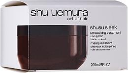 Парфюмерия и Козметика Маска за буйна коса - Shu Uemura Art Of Hair Shusu Sleek Smoothing Treatment