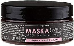 Парфюмерия и Козметика Кална маска за тяло със спирулина и масло от опуция - E-Fiore Body Mask With Spirulina, Opuntia Oil And HA Acid