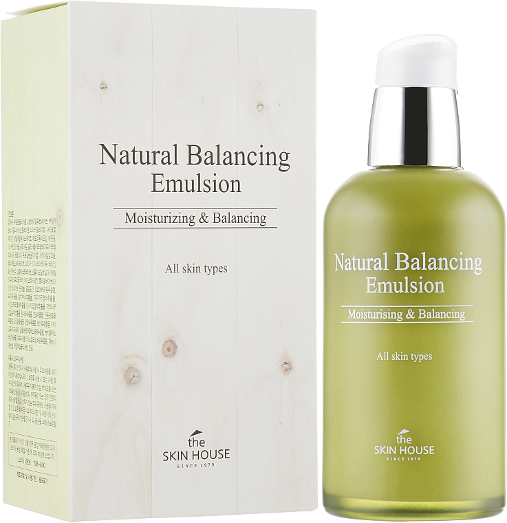 Балансираща есенция за лице - The Skin House Natural Balancing Emulsion