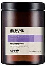 Парфюми, Парфюмерия, козметика Защитна маска за боядисана и изсветлена коса - Niamh Hairconcept Be Pure Protective Mask