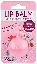 """Парфюмерия и Козметика Балсам за устни """"Ягода"""" - Cosmetic 2K Lip Balm"""