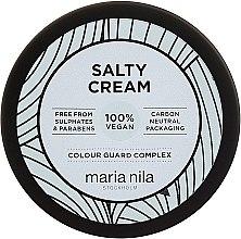 Парфюмерия и Козметика Стилизиращ крем за коса с лека фиксация - Maria Nila Salty Cream