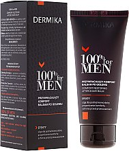 Парфюми, Парфюмерия, козметика Успокояващ балсам за след бръснене - Dermika Comfort Restoring After-Shave Balm
