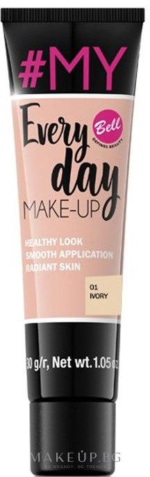 Тонален крем - Bell #My Every Day Make-Up — снимка 01 - Ivory