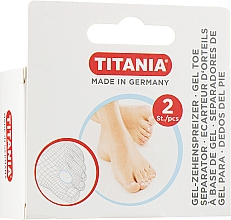 Парфюмерия и Козметика Гел разделител за палеца на крака - Titania