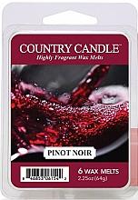 Парфюмерия и Козметика Восък за арома лампа - Country Candle Pinot Noir Wax Melts
