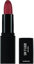 Парфюмерия и Козметика Червило за устни - Sleek MakeUP Say It Loud Satin Lipstick