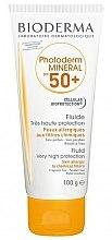 Парфюмерия и Козметика Слънцезащитен флуид за тяло - Bioderma Photoderm Mineral Fluid SPF 50+