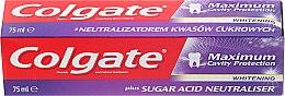 Парфюми, Парфюмерия, козметика Паста за зъби - Colgate Maximum Cavity Protection Whitening Toothpaste