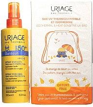 Парфюми, Парфюмерия, козметика Комплект - Uriage Bariesun Children SPF 50+ (слънцезащитен спрей/200ml + торбичка)