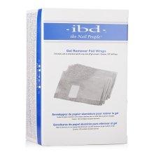 Парфюмерия и Козметика Фолио за премахване на гел лак - IBD Just Gel Remover Foil Wraps