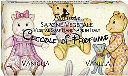 Парфюмерия и Козметика Натурален сапун с ванилия - Florinda Sapone Vegetale Vegetal Soap Vanilla