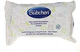 Парфюмерия и Козметика Почистващи мокри кърпички - Bubchen Sensitive Care