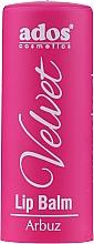 Парфюмерия и Козметика Балсам за устни - Ados Cosmetics Velvet Lip Balm