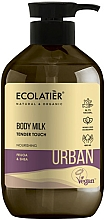 Парфюмерия и Козметика Мляко за тяло с фейхоа и ший - Ecolatier Urban Body Milk
