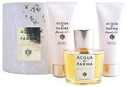 Парфюми, Парфюмерия, козметика Acqua di Parma Magnolia Nobile - Комплект (парф. вода/100ml + душ гел/75ml + крем за тяло/75ml)