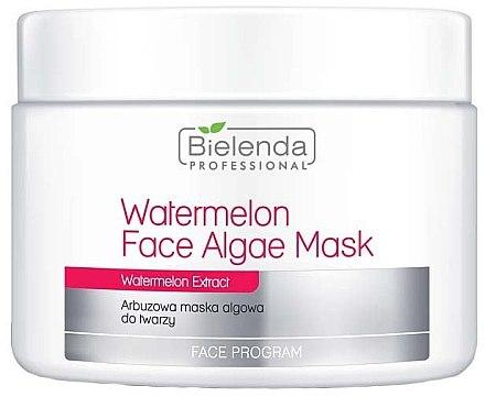 Маска на базата на морски водорасли и диня - Bielenda Professional Watermelon Face Algae Mask (допълнителна опаковка)