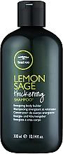 Парфюмерия и Козметика Шампоан с екстракт от чаено дърво, лимон и градински чай - Paul Mitchell Tea Tree Lemon Sage Thickening Shampoo